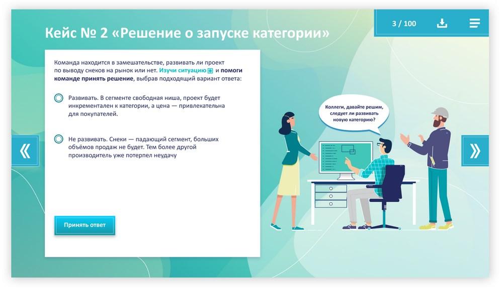 Скриншот из онлайн-курса по категорийному менеджменту